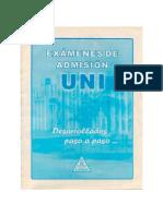 Exámenes UNI Admision - 2001 - 2008
