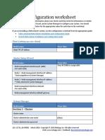 Cluster Configuration Worksheet (1)