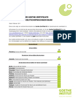 Goethe Zertifikate Anerkennung Gz b2
