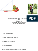 NUTRITION  FOR YOU-HEALTHY LIFE - - Copy (1).ppt