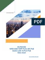 WI PS518G Datasheet
