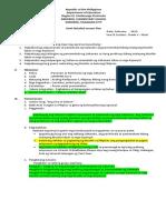 Demonstration Lesson Plan in ArPan V