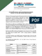 Acta de Instalacion Del Copae 2016 -2017