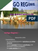 Ax Hist Antigo Regime
