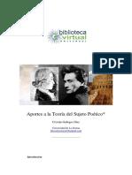 Aportes a La Teoría Del Sujeto Poético