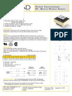 Triad Magnetics VPP16 310 Datasheet