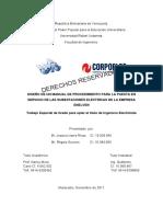 Diseño de Un Manual de Procedimiento Para La Puesta en Servicio de Las Subestaciones Eléctricas de La Empresa ENELVEN