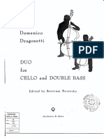 Dragonetti Duo Cello y Bajo