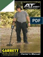 Manual de Usuario Garrett at Pro 1