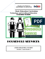 Docs.household Services Learning Module