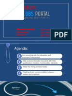 Online Job Portal Power Point Presentation