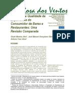 Métricas da qualidade da experiência do consumidor de bares e restaurantes uma revisão comparada.pdf
