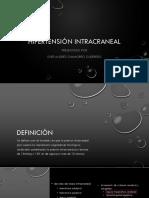 Hipertensión intracraneal .pptx