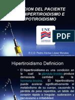 Manejo Odontologico de Hipotiroidismo e Hipertiroidismo