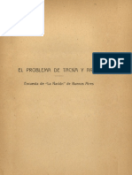 El problema de Tacna y Arica 1922