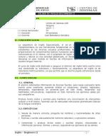 Silabo y Clases Beginner II