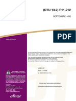 DTU 13.2 - Fondations Profondes Pour Le Bâtiment