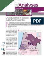 Étude de l'Insee Nouvelle Aquitaine sur les collégiens dans les Landes