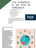 Analisis Economico-social Del Pais de Venezuela