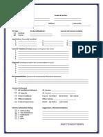 Performance Task Sheet