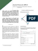 Simulación Protocolo MPLS