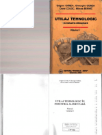 Utilaj Tehnologic în Industria Alimentară. Vol. I