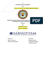 Summer Training Sample Report-sample
