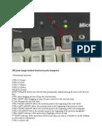 100 Jenis Fungsi Tombol Keyboard Pada Komputer