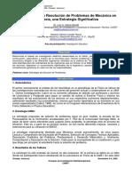 Heurística para la Resolución de Problemas de Mecánica Ingeniería, una Estrategia Significativa