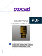 Exocad Instruction Manual Creating Implant Geometries-En