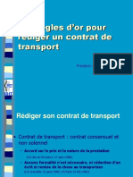 Les Clauses Et Conditions de Transport