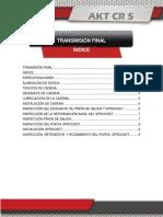 13 Transmisión Final CR 5