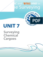 Unit 7-Surveying Chemical Cargoes