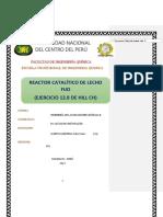Trabajo N4 de Ingenieria de Las Reacciones II-CAMPOS CARDENAS JULIO CESAR - Para Combinar