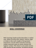 Wall Covering Ppt