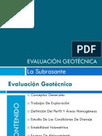 3. EVALUACION GEOTECNICA
