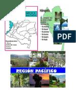 La Población de La Región Pacífica de Colombia Comprende a Los Habitantes de Los Departamentos de Chocó