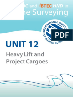 Unit 12-Heavy Lift & Project Cargoes