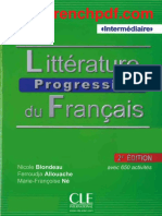 Litterature Progressive Intermediaire