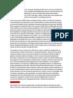 Hugo Chávez Sabaneta Biografia