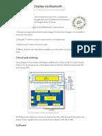 Wireless LCD Display via Bluetooth _ Full Electronics Project