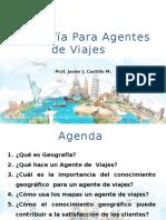 Geografía y Agentes de Viajes