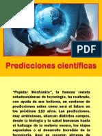 Predicciones científicas