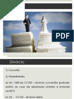 Divórcio e União Estável.pptx