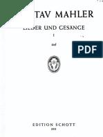 Mahler - Lieder Und Gesänge Aus Der Jugendzeit