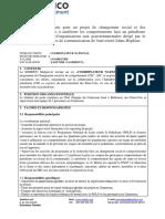Annonce Breakthrough Action Cameroun - Coordinateur National