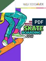 Concurso Juvenil Skate Boarding Edomex 2019