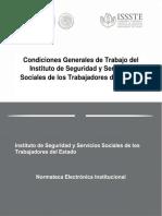 Condiciones Generales de Trabajo ISSTE