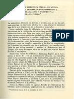 Bibliotecas en Mexico Historia