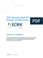 Vfd Capacitor Shelf Life Storage and Reforming